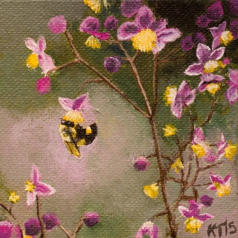 Pollinating Bee